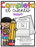 May Spanish Writing - Completa el cuento - mayo
