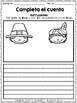November Spanish Writing - Completa el cuento - noviembre