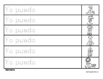 Completa las oraciones primavera (Complete the Sentences in Spanish)
