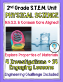 COMPLETE 2nd Grade NGSS Physical Science UNIT- Lessons, Ch