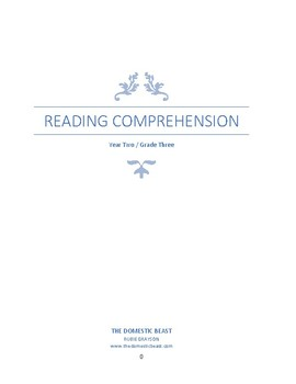 Complete 36-Week Reading Comprehension Curriculum