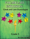 Greek and Latin 3rd Grade Vocabulary Program - Daily Root