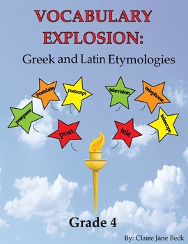 Greek and Latin Root Word Vocabulary Program - Daily 4th Grade Language Practice