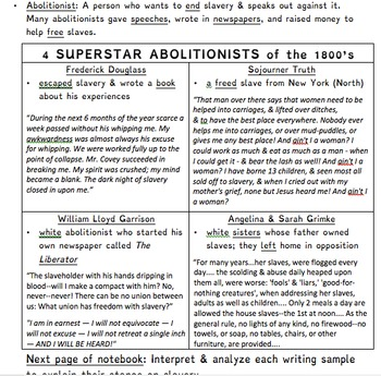 Complete 5th Grade Social Studies Unit (TN Standards)
