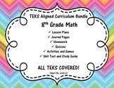 Complete 8th Grade Math Curriculum Bundle - 8th Grade