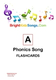 Complete A - Z Phonics Songs Digital Flashcards