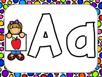 Complete A to Z Letter Bundle--Great for the Beginning of the Year