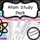 Atoms and Elements Lesson Worksheets
