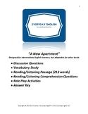 Complete Adult ESL Lesson (A New Apartment)