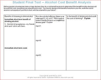 Alcohol Unit -- All Lessons Bundle with Optional Bonus