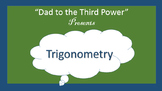 Complete Algebra 2 Unit on Trig functions with assignments, quiz, and test