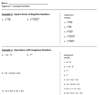 Complete Algebra 2 unit on radicals, with powerpoints