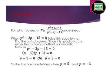 Complete Algebra 2 unit on rational expressions with powerpoints