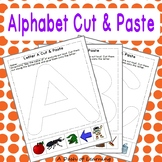 Uppercase Alphabet Cut & Paste for Preschool