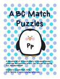 Complete Alphabet Match Puzzles