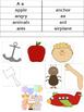 Complete Alphabet Picture Sort/Matching Bundle