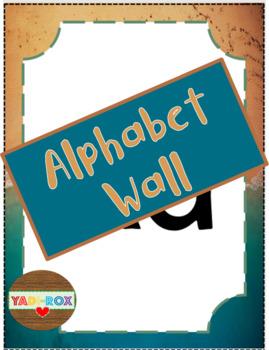 Complete Alphabet Wall Pack - Ocean / Beach Theme