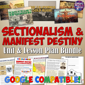 Manifest Destiny and American Expansion Complete Unit Bundle