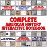 American History Complete Interactive Notebook Bundle