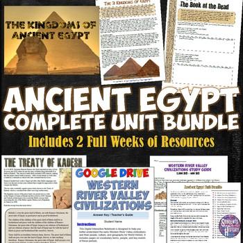 Ancient Egypt Complete Unit Bundle