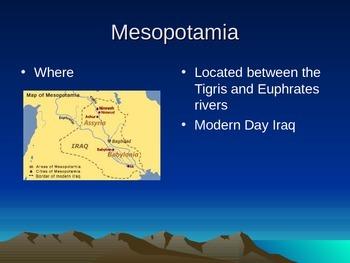 Complete Ancient Mesopotamia Unit PowerPoints
