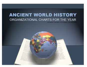 Complete Ancient World History Organizational Charts For Year
