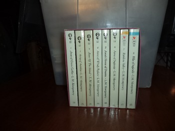 Complete Anne of Greene Gables (Series of 8 Books)