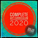 ART. Complete Art Curriculum for Middle School 2020