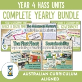Complete Australian Curriculum Year 4 HASS Units Bundle
