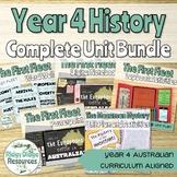 Complete Australian Curriculum Year 4 History Units Bundle