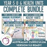 Complete Australian Curriculum Year 5&6 Health Units Bundle