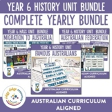Complete Australian Curriculum Year 6 History Units Bundle