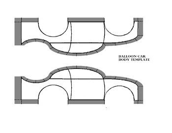 Complete Ballon Car Design Activity