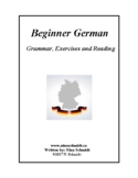 Beginner German Workbook and Textbook - Deutsch für Anfänger  - 84 pages!