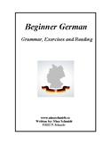 Beginner German Workbook: Deutsch für Anfänger- 85 pages! (EDITABLE)