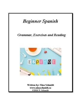 Beginner Spanish Workbook - 65 pages! - Español para principiantes