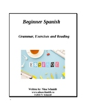 Beginner Spanish Workbook: Español para principiantes - 65 pages! (EDITABLE)