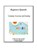 Beginner Spanish Workbook: Español para principiantes - 65 pages! (EDITABLE)