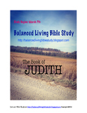 Book of Judith Bible Study Guide