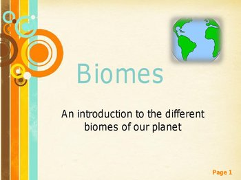 Complete Biomes Across the World Unit