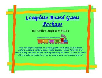 Complete Board Game Package
