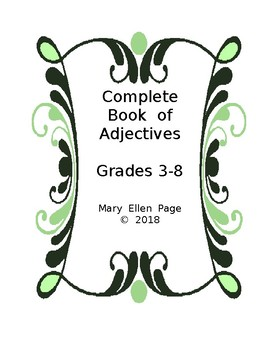 Complete Book of Adjectives    Grades 3-8