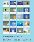 Complete Bundle Text Talk Levels A, B, C with 7 Bonus Books!
