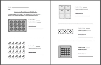 Complete Bundle of All Math Assessments for 2nd Grade Common Core Standards