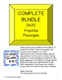Complete Bundle of Packs 1 & 2 DAZE Reading Practice Passa