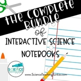 Complete Bundle of Interactive Science Notebook Products