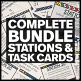 Complete Bundle of Math Stations & Task Cards