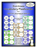 Third Grade Unit 2 Journeys Vocabulary Flashcards