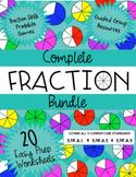 Complete CCSS Aligned Fraction Bundle