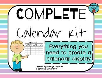 Complete Calendar Kit